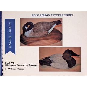 Blue Ribbon Pattern Series: Miniature Decorative Patterns