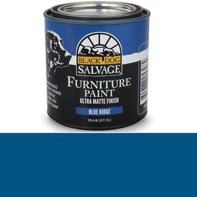 Blue Ridge' - Blue Furniture Paint, 1/2 Pint 236.6ml (8 fl. Oz.)