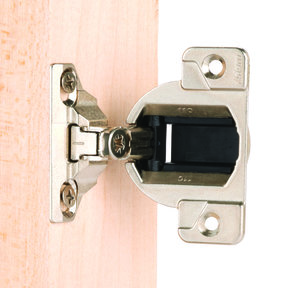 """110° 1-3/8"""" Overlay Face Frame Hinge Face Mount Pair"""