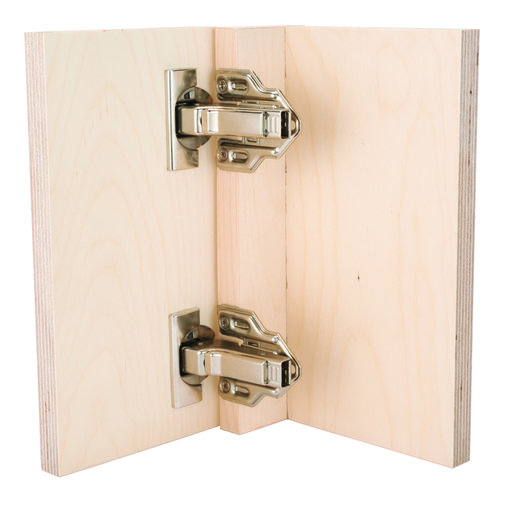 View a Larger Image of 110° Clip Top Partial Overlay Face Frame Hinge with BLUMOTION Pair