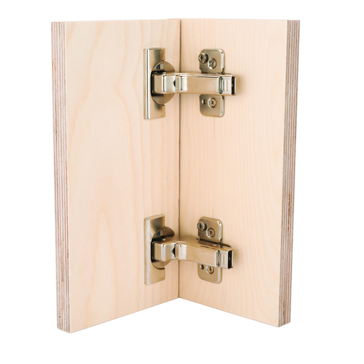 View a Larger Image of 110° Clip Top Inset Frameless Hinge with Blumotion Pair