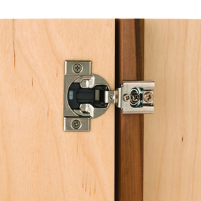 """Compact 1/2"""" Overlay Face Frame Hinge with Blumotion Pair"""