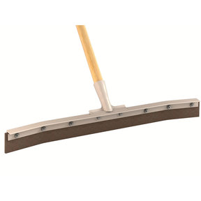 Curved Blade Floor Squeegee, 24 Inch
