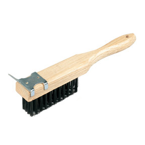 Straight Handle Wire Brush, 11-1/2 Inch x 1-1/2 Inch