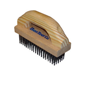 Wire Brush, With Scrubbing Handle