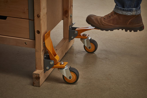 View a Larger Image of BORA 4pc. Workbench Caster Kit
