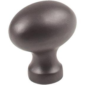 "Bordeaux Knob, 1-3/16"" O.L., Dark Bronze"