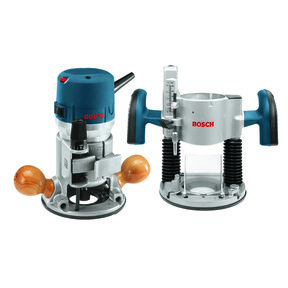 2.25 HP EVS Fixed and Plunge Base Router Combo Kit