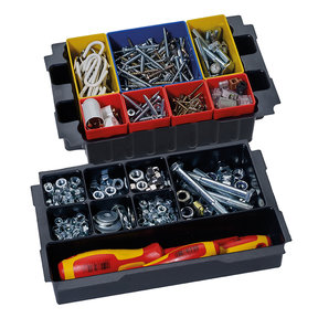 Box Insert Set with 8 divisions for MINI T-LOC III systainers