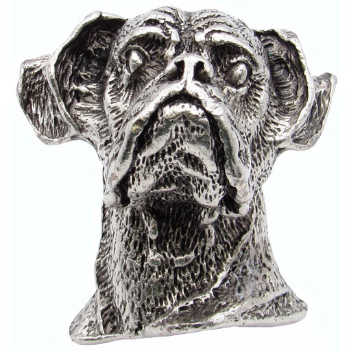 View a Larger Image of Boxer Knob Pewter Oxide