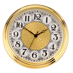 Brass Fit-Up, Arabic Numbers, Fancy Dial, 50mm