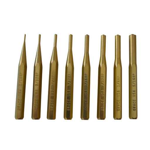 View a Larger Image of Brass Punch Set