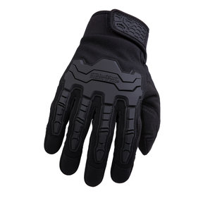 Brawny Gloves, Black, Medium