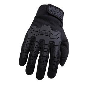 Brawny Gloves, Black, XXL