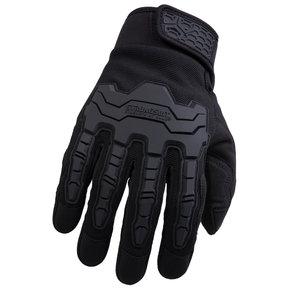 Brawny Plus Gloves, Black, Medium