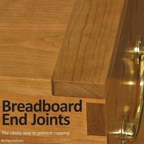 Breadboard End Joints Downloadable Technique
