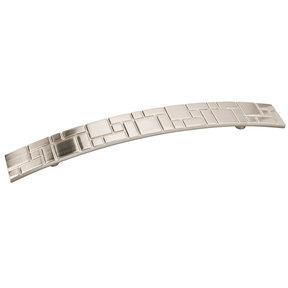 Breighton Pull, 160 mm C/C, Satin Nickel