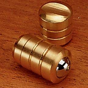 """Brass Bullet Catch 1/4"""" D Light Duty"""