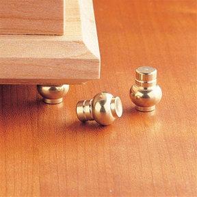 Jewelry Box Feet - Brass - 4 Pack