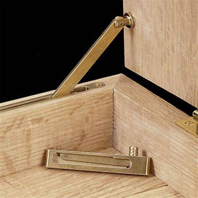 Mortised Box Lid Support