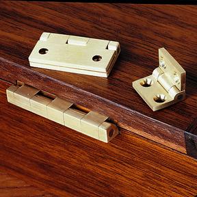 """Small Box Hinge - 3/4"""" x 1/2"""" - 2 Pack"""