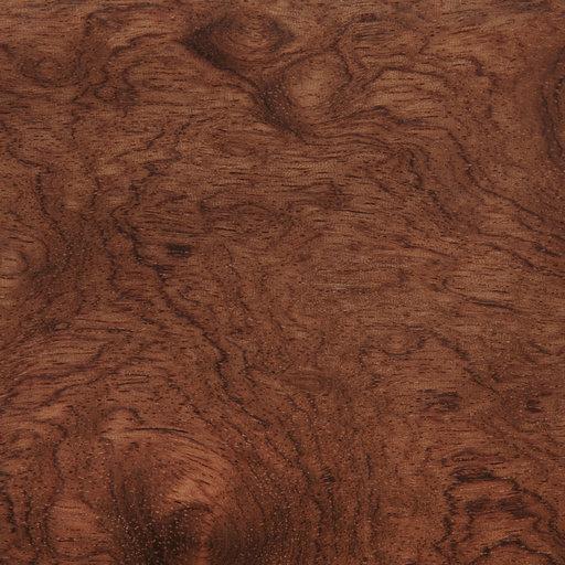 "View a Larger Image of Bubinga Veneer Sheet Rotary Cut ""Kevazinga / Waterfall"" 4' x 8' 2-Ply Wood on Wood"