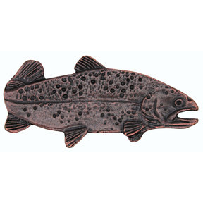 """2"""" Long Trout Pull Right Facing, Oil Rubbed Bronze, Model 095ORB"""