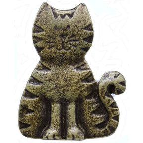 Cat Pull, Antique Brass, Model 097AB