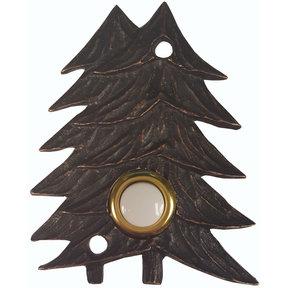 Large Twin Pines Door Bell, Oil Rubbed Bronze, Model 920ORB