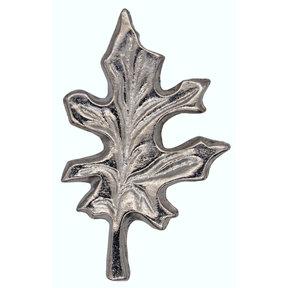 Oak Leaf Pull, Nickel, Model 142N