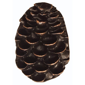 Pine Cone Pull, Oil Rubbed Bronze, Model 325ORB