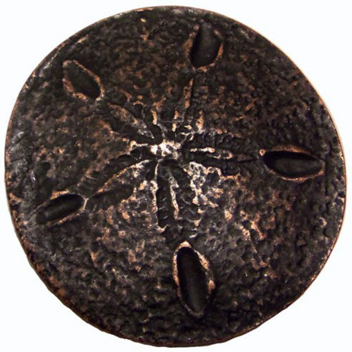 View a Larger Image of Sand Dollar Pull, Oil Rubbed Bronze, Model 339ORB