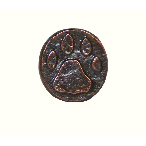 View a Larger Image of Stone Wolf Track Pull, Oil Rubbed Bronze, Model 173ORB