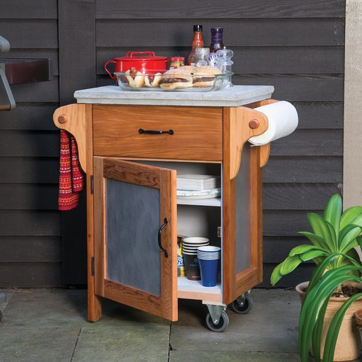 View a Larger Image of Build a Great Grill Cart Downloadable Plan