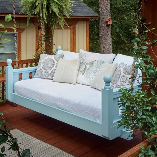 View a Larger Image of Build A Swing Bed Downloadable Plan