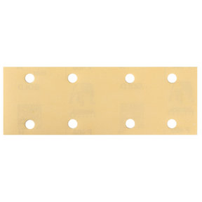 "GOLD 2.75""x8"" Grip Sandpaper, 8H P220, 50 Sheets/Box"