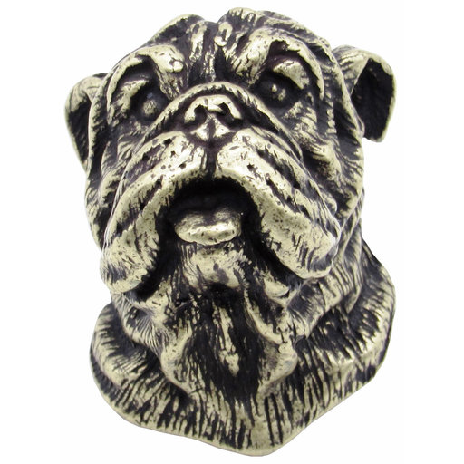View a Larger Image of Bulldog Knob Brass Oxide