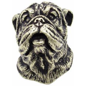 Bulldog Knob Brass Oxide