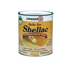 Gloss Shellac Bulls Eye Solvent Based Quart