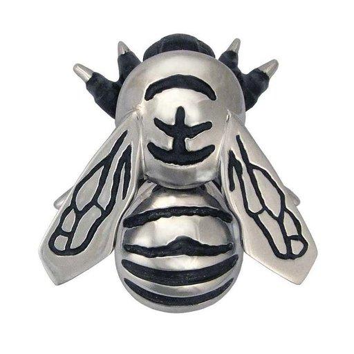 View a Larger Image of Bumblebee Door Knocker - Nickel Silver