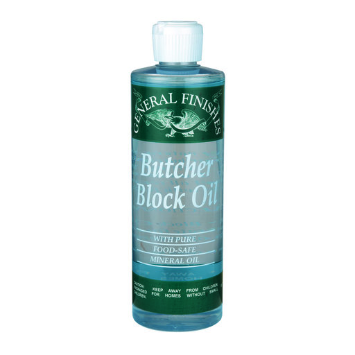 View a Larger Image of Clear Butch Block Oil Pint
