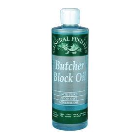Clear Butch Block Oil Pint