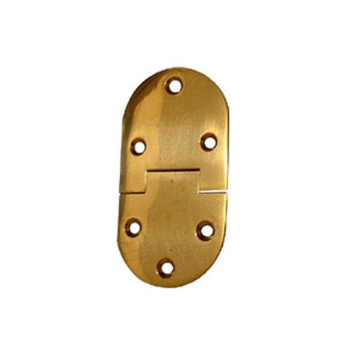 """View a Larger Image of Round Butler Tray Hinge 3"""" L x 1-1/2"""" W Pair"""