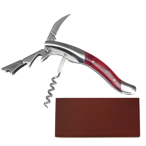 View a Larger Image of Cabernet - Red Bone Steward Wine Tool, Stainless Steel