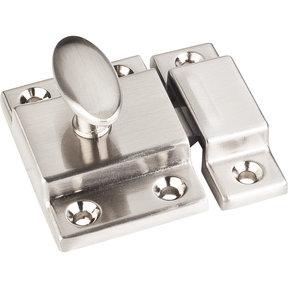 "Cabinet Latch, 1-3/4"", Satin Nickel"