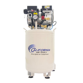 1HP 10 Gallon Oil-Free Steel Tank Air Compressor with Air Drying System and Aftercooler