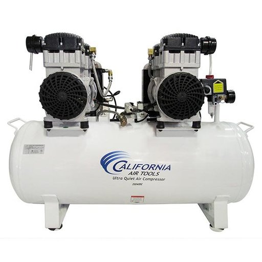 View a Larger Image of 4HP 220V 20 Gallon Oil-Free Steel Tank Air Compressor with Air Drying System