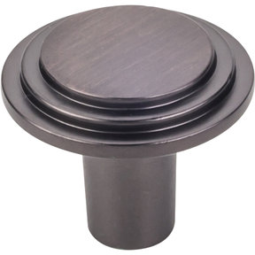 """Calloway Large Knob, 1-1/4"""" Dia.,  Brushed Oil Rubbed Bronze"""