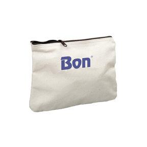 """Canvas Zipper Bag 15"""""""