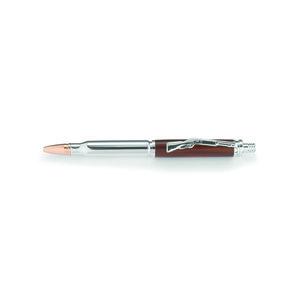 Cartridge Bullet Click Ballpoint Pen Kit - Chrome